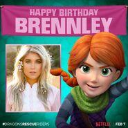 Happy Birthday Brennley