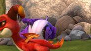 HM - Aggro walking away from a sleeping Burple