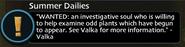 Investigate Odd Plants Quest