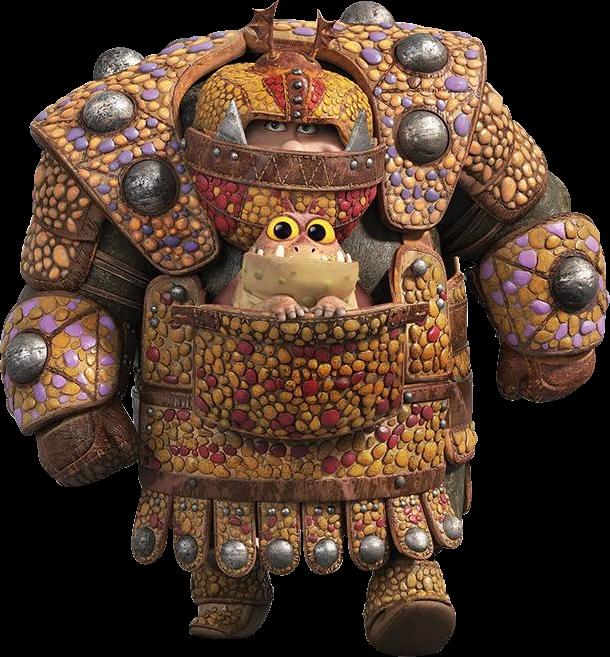 Fishlegs' Dragon Scale Armor