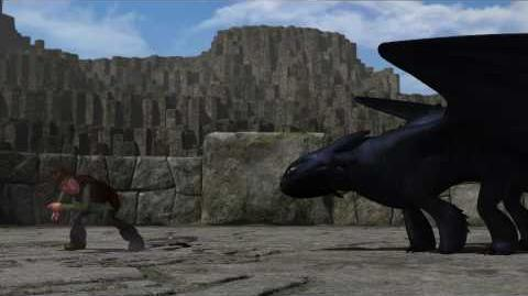 """DreamWorks' """"How To Train Your Dragon"""" - Dragon Training Lesson 5 The Night Fury"""