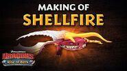 DreamWorks Dragons Rise of Berk Making of Shellfire