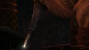 Gobber shows his peg blade