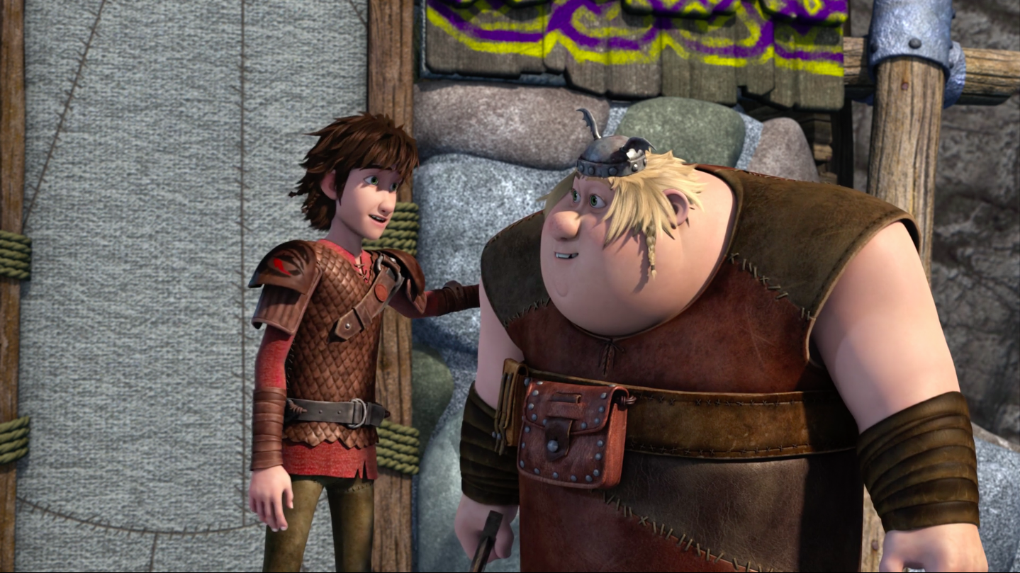 Fishlegs and Hiccup's Relationship