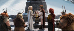 Click here to view more images from the wedding of Astrid Hofferson and Hiccup Horrendous Haddock III.