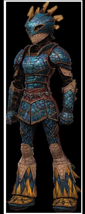 Astrid's Dragon Scale Armor