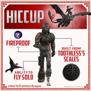 Gallery Hiccup S Dragon Scale Armor How To Train Your Dragon Wiki Fandom It consists of the dragon mask, dragon breastplate and dragon greaves. gallery hiccup s dragon scale armor