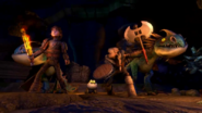 Hiccup and Astrid in SoD Trailer