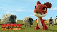 Befriending a Fire Dragon DRAGONS RESCUE RIDERS
