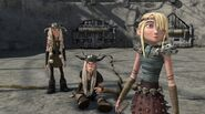 Astrid upon hearing Fishlegs suggestion
