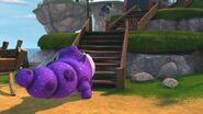 HA - Burple having trouble getting the baby ironclaw