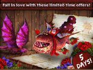 Rise of Berk Sweet Wraith, Cupid Meatlug promo