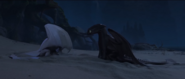 Toothless dance for The Light Fury (6)
