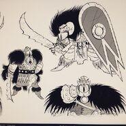 Early Drago concept design 2