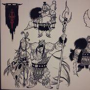 Early Drago concept design