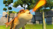 PE - Zeppla sending a fire ball