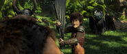 THW-Gobber, Hiccup, Toothless