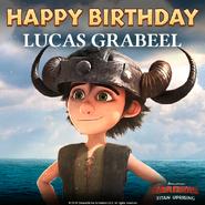 TU-Happy Birthday Lucas Ad