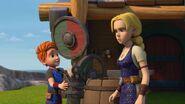 HA - Dak and Hannahr by a barrel