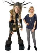 How to train your dragon kristen wiig