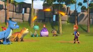PE - Zeppla's fireballs not going that high