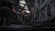 DOB - Hiccup gets cornered by Dagur's henchmen