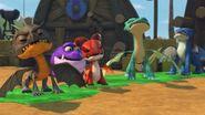GOH - All the dragons but Burple stuck