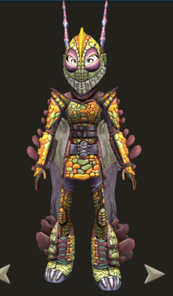 Click here to view more images from Ruffnut's Dragon Scale Armor.