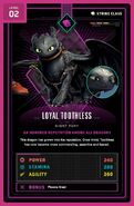 Toothless level 2 front
