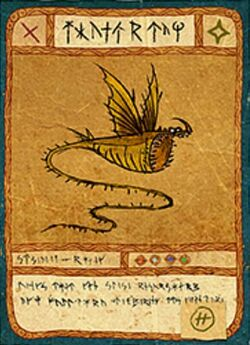 Click here to view more images from Fishlegs' Dragon Cards.