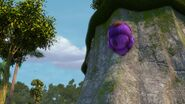 CC - Burple rolling up a cliff