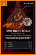 Monstrous nightmare level 1 front
