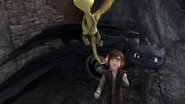 DOB - Hiccup sends a terrible terror with a message to Berk