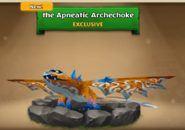 ROB-Apneatic Archechoke Hatchling