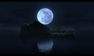 Storehouse Island at Night