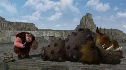 """DreamWorks' """"How To Train Your Dragon"""" - Dragon Training Lesson 2 The Gronckle"""