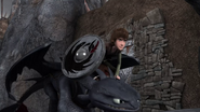 DOB - Hiccup and Toothless about to take off