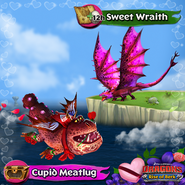 Sweet Wraith and Cupid Meatlug Valentines special