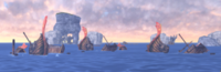 Destroyed Refugee Ships