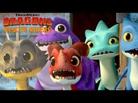 DRAGONS RESCUE RIDERS - Huttsgalor Holiday Special Trailer - NETFLIX