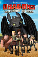 Dragons Defenders of Berk poster
