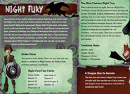 Night Fury Guide to Dragons 1