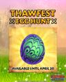 ROB-Thawfest Egg Hunt 2020
