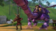GOH - The mechano dragon landing by Ottil
