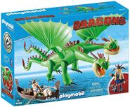 Playmobil Barf and Belch Toy 1