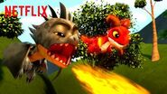 Best Dragon Powers 🐉 Dragons Rescue Riders Netflix Jr