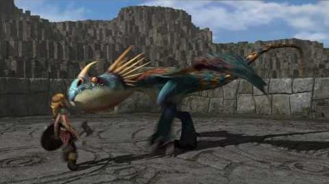 """DreamWorks' """"How To Train Your Dragon"""" - Dragon Training Lesson 1 The Deadly Nadder"""