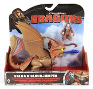 Valka and Cloudjumper Toy 2