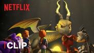 The Golden Blast 🔥 Dragons Rescue Riders Netflix Jr