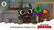 Toothless in Wake Up